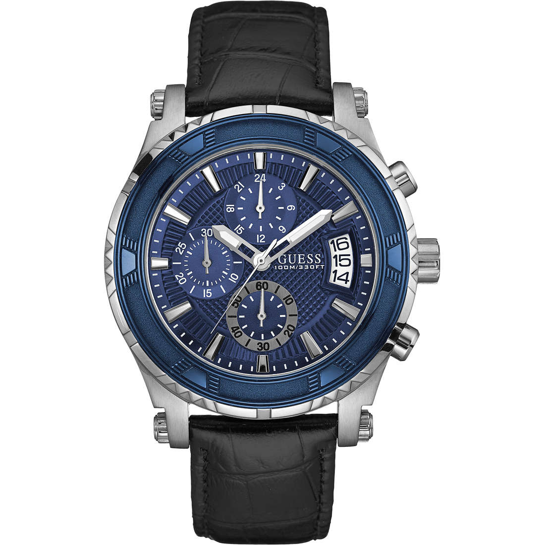 montre chronographe homme Guess Pinnacle W0673G4