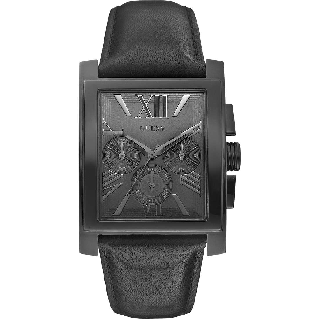 montre chronographe homme Guess W0010G2