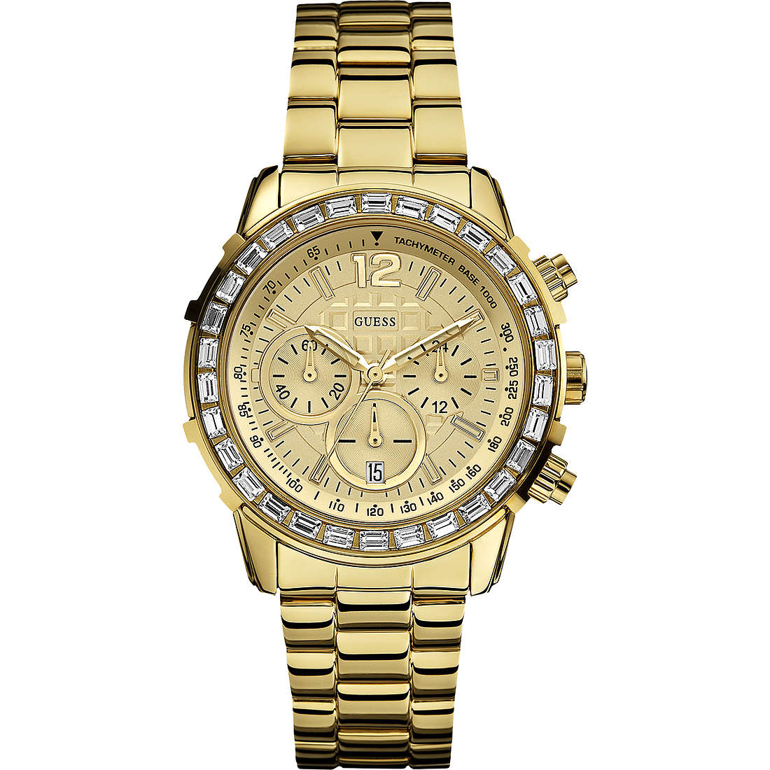 montre chronographe homme Guess W0016L2