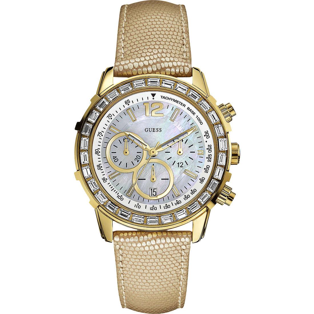 montre chronographe homme Guess W0017L2