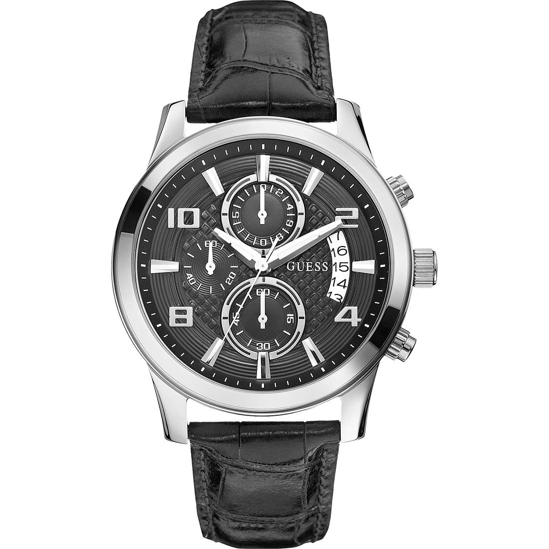 montre chronographe homme Guess W0076G1
