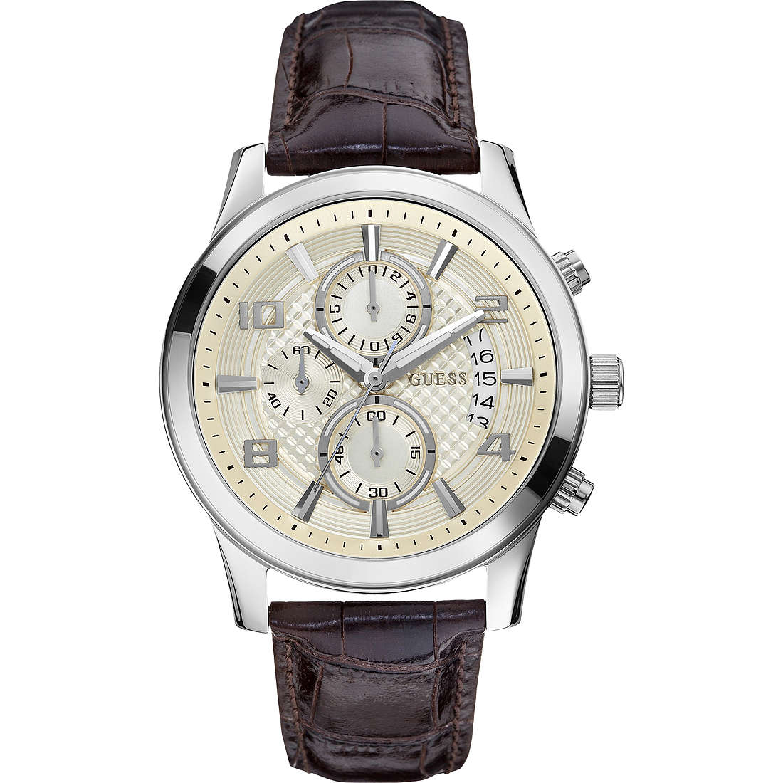montre chronographe homme Guess W0076G2