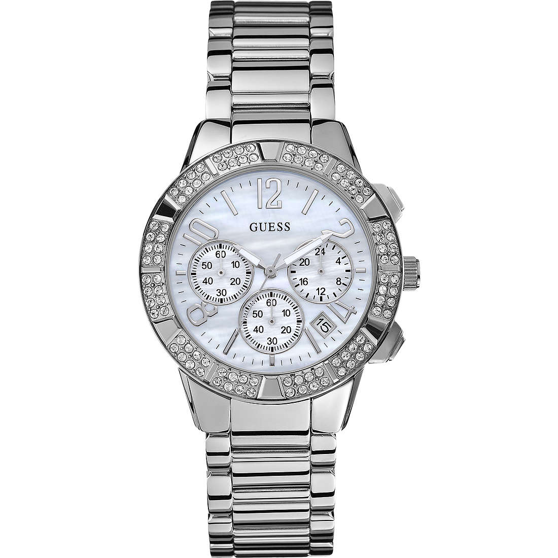 montre chronographe homme Guess W0141L1