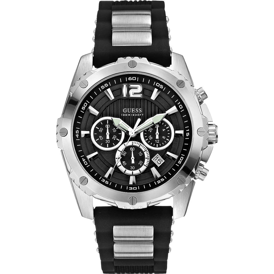 montre chronographe homme Guess W0167G1