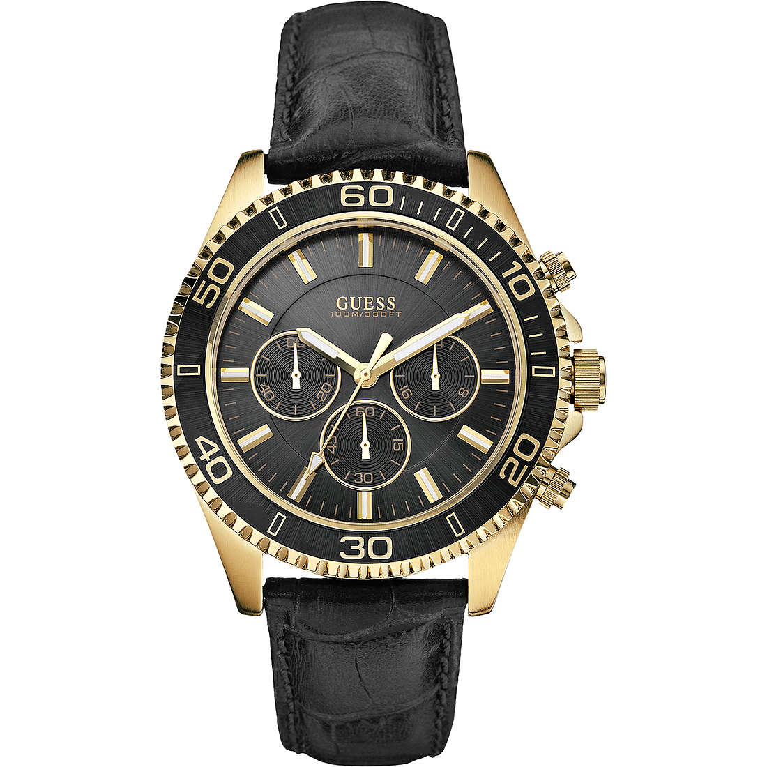 montre chronographe homme Guess W0171G3