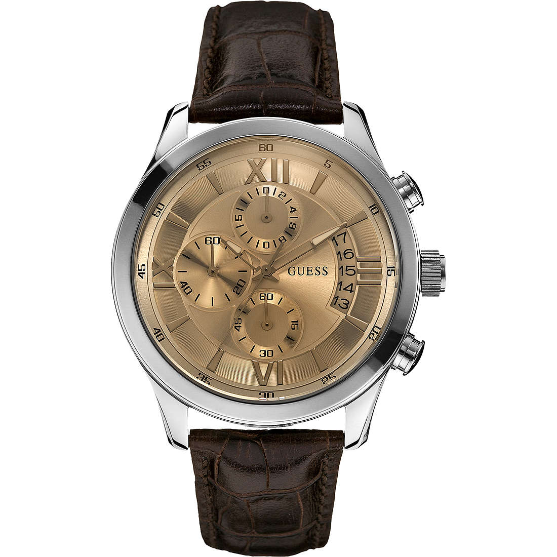 montre chronographe homme Guess W0192G1