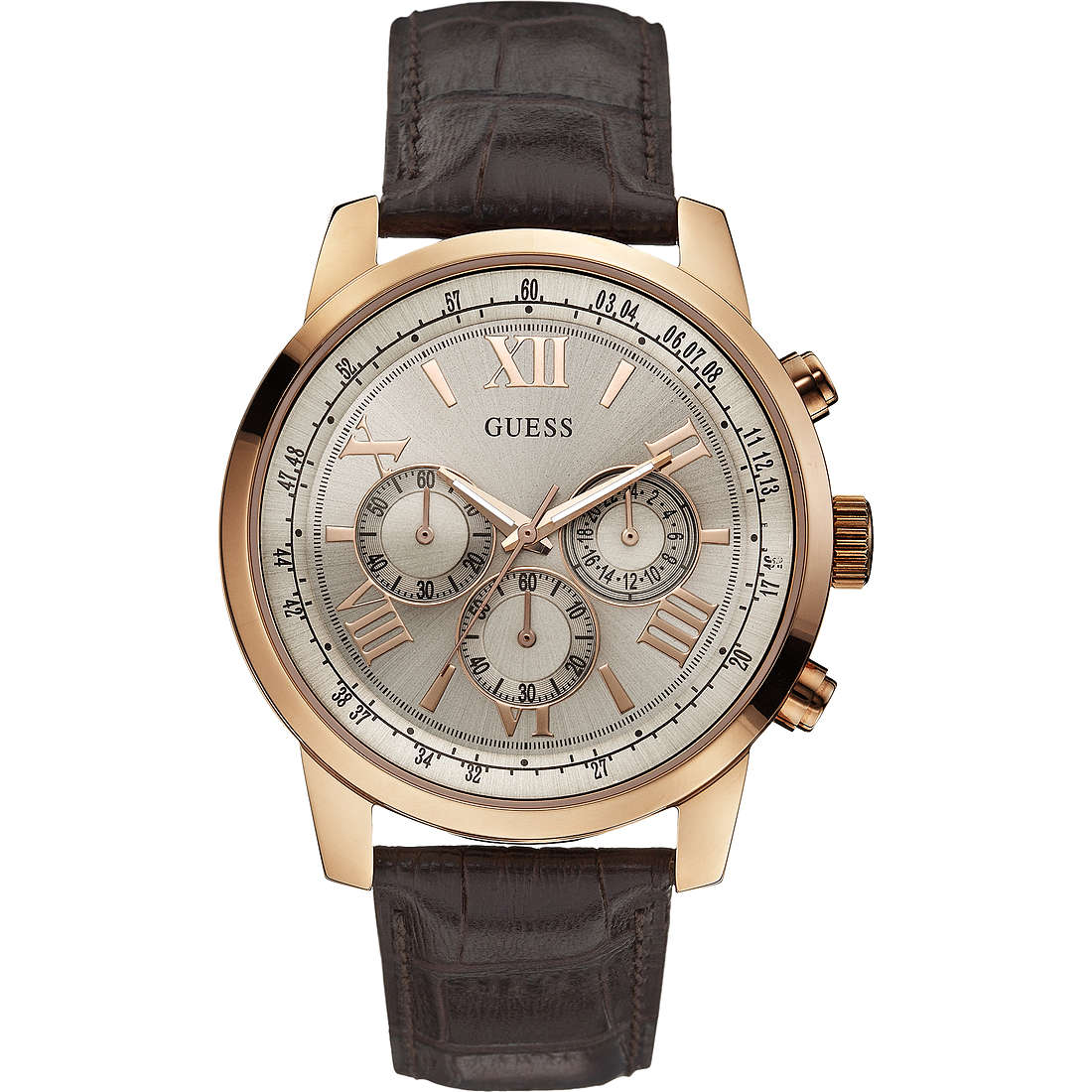montre chronographe homme Guess W0380G4
