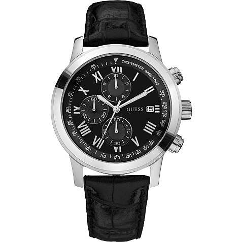 montre chronographe homme Guess W13087G1