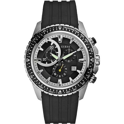 montre chronographe homme Guess W16545G1