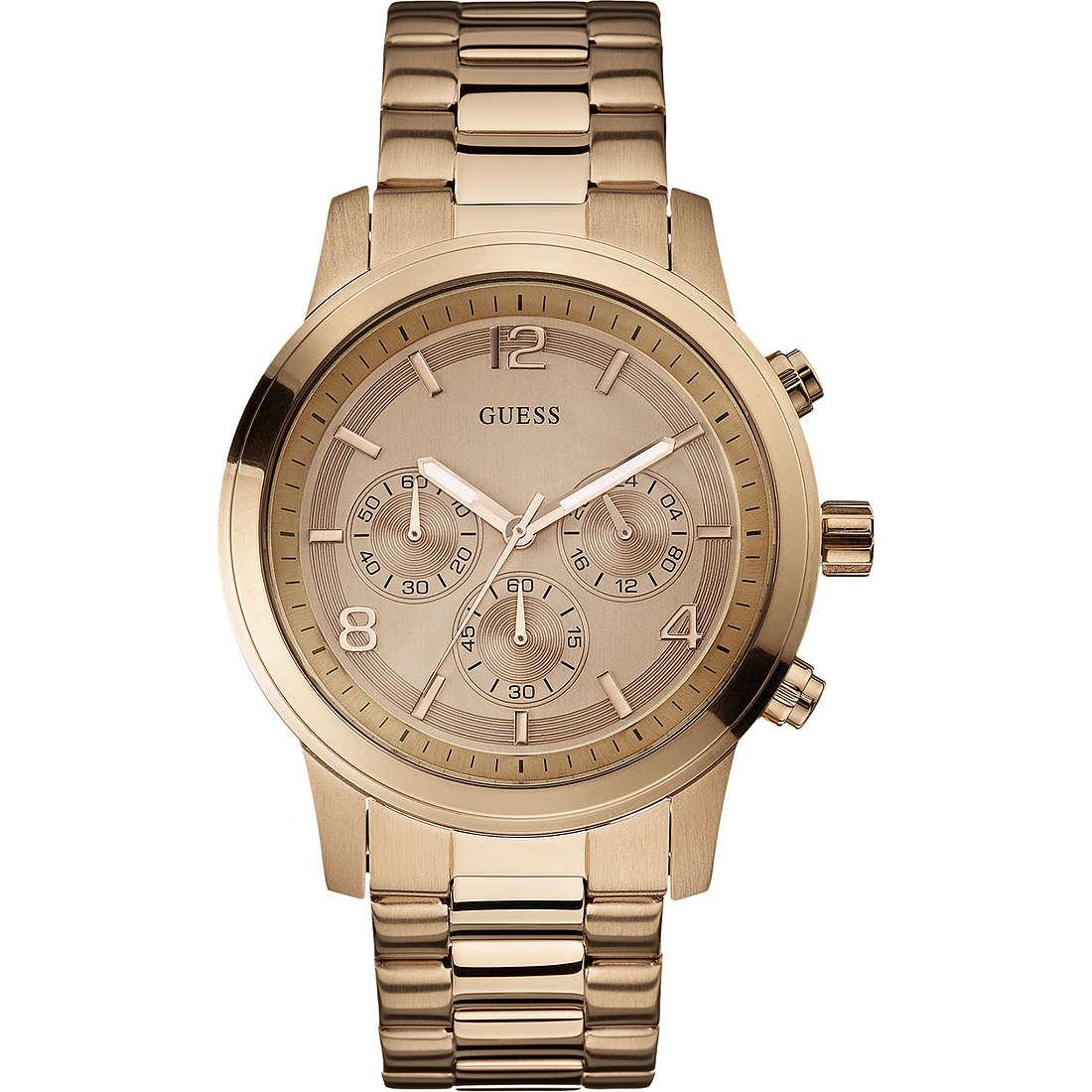 montre chronographe homme Guess W17004L1