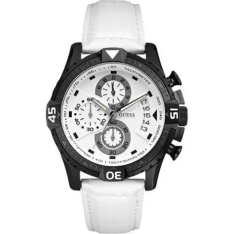 montre chronographe homme Guess W18547G2