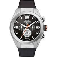 montre chronographe homme Harley Davidson Heavy Metal 76B176