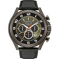 montre chronographe homme Harley Davidson Night Rider 78B149