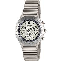montre chronographe homme Hip Hop Aluminium Chrono HWU0730