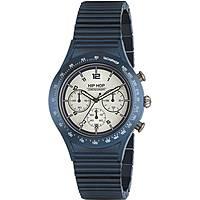 montre chronographe homme Hip Hop Aluminium Chrono HWU0731
