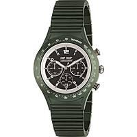 montre chronographe homme Hip Hop Aluminium Chrono HWU0732