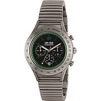 montre chronographe homme Hip Hop Aluminium Chrono HWU0734