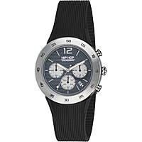 montre chronographe homme Hip Hop Metal HWU0705