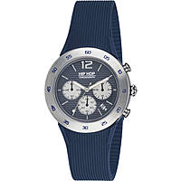 montre chronographe homme Hip Hop Metal HWU0706