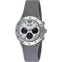 montre chronographe homme Hip Hop Metal HWU0707