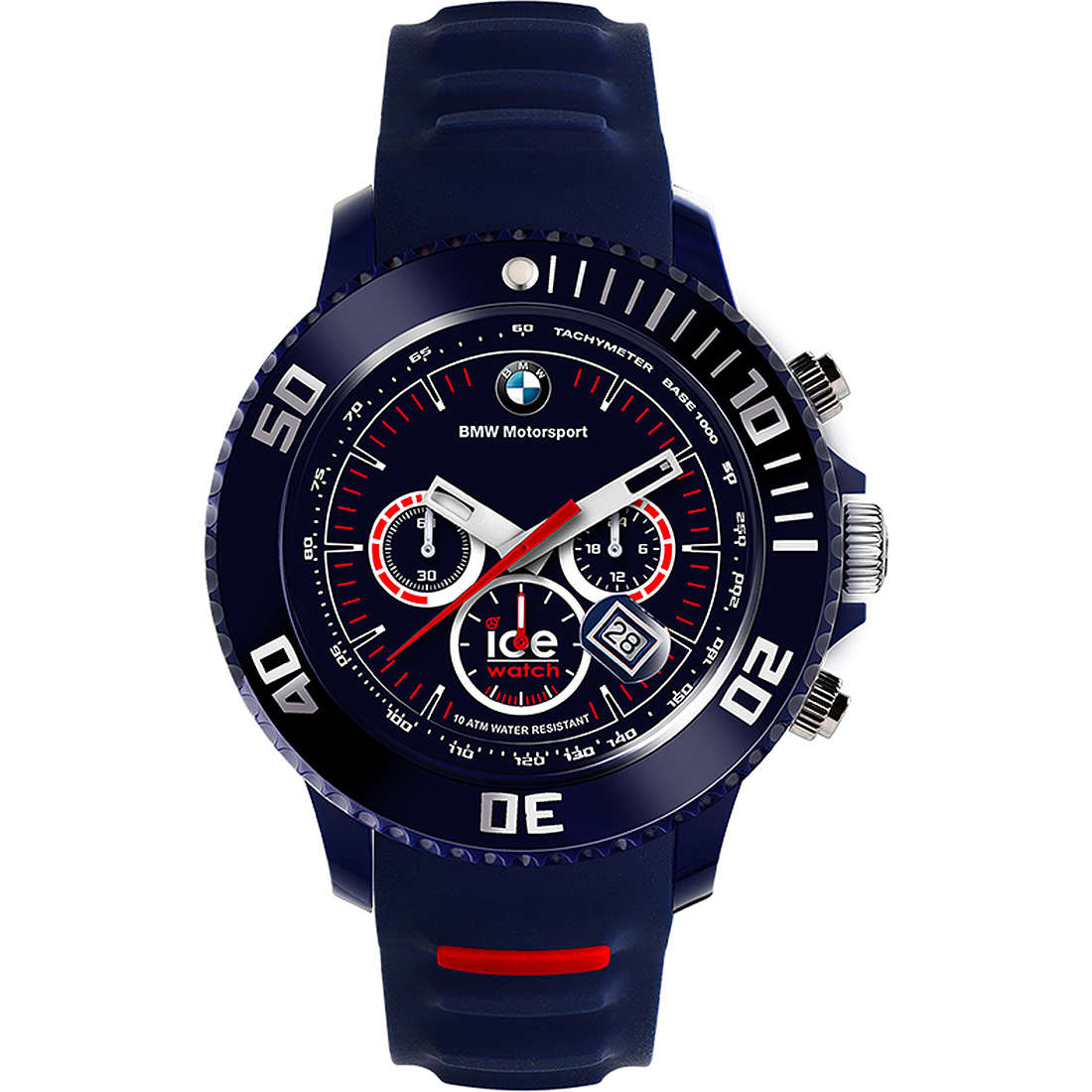 montre chronographe homme ICE WATCH Bmw Motorsport BM.CH.DBE.BB.S.13