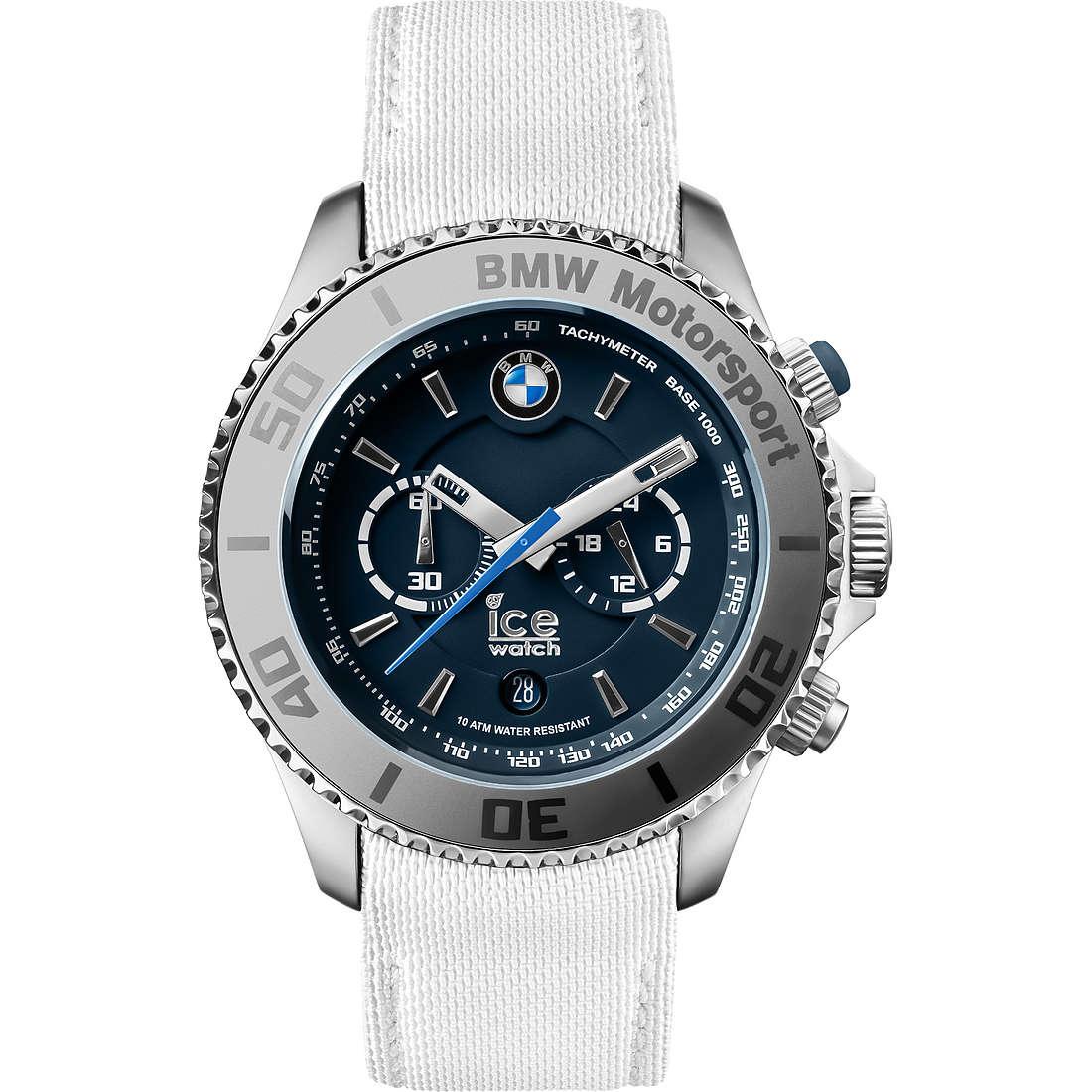 montre chronographe homme ICE WATCH Bmw Motorsport BM.CH.WDB.B.L.14