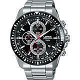 montre chronographe homme Lorus Sports RM345DX9