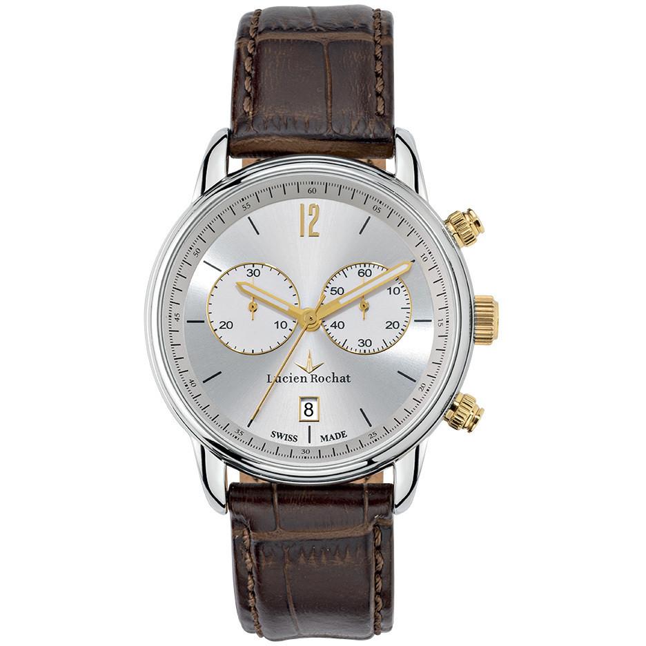montre chronographe homme Lucien Rochat Geste' R0471607001