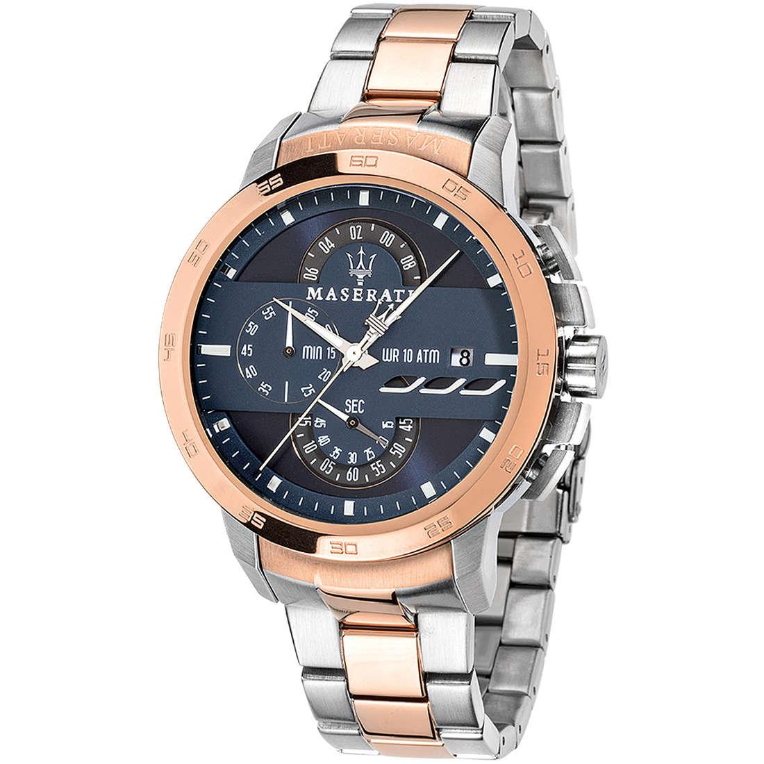 montre chronographe homme Maserati Ingegno R8873619002
