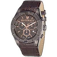montre chronographe homme Maserati MECCANICA R8871611001