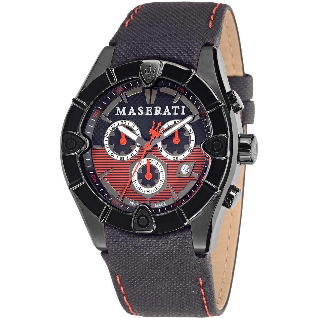 montre chronographe homme Maserati MECCANICA R8871611002