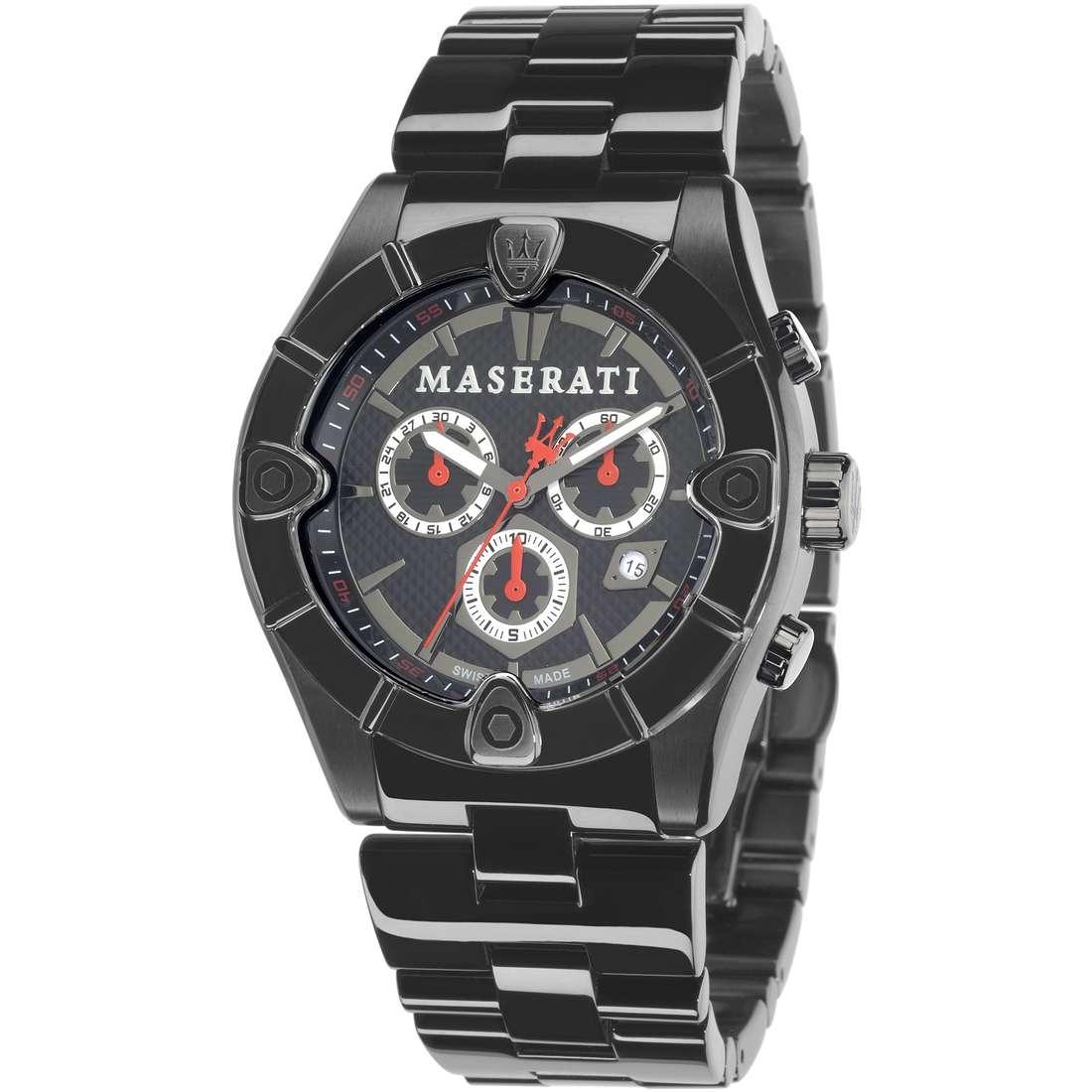 montre chronographe homme Maserati MECCANICA R8873611001
