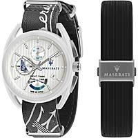 montre chronographe homme Maserati  Trimarano R8851132002