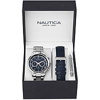 montre chronographe homme Nautica Nct 15 Multi NAD18533G