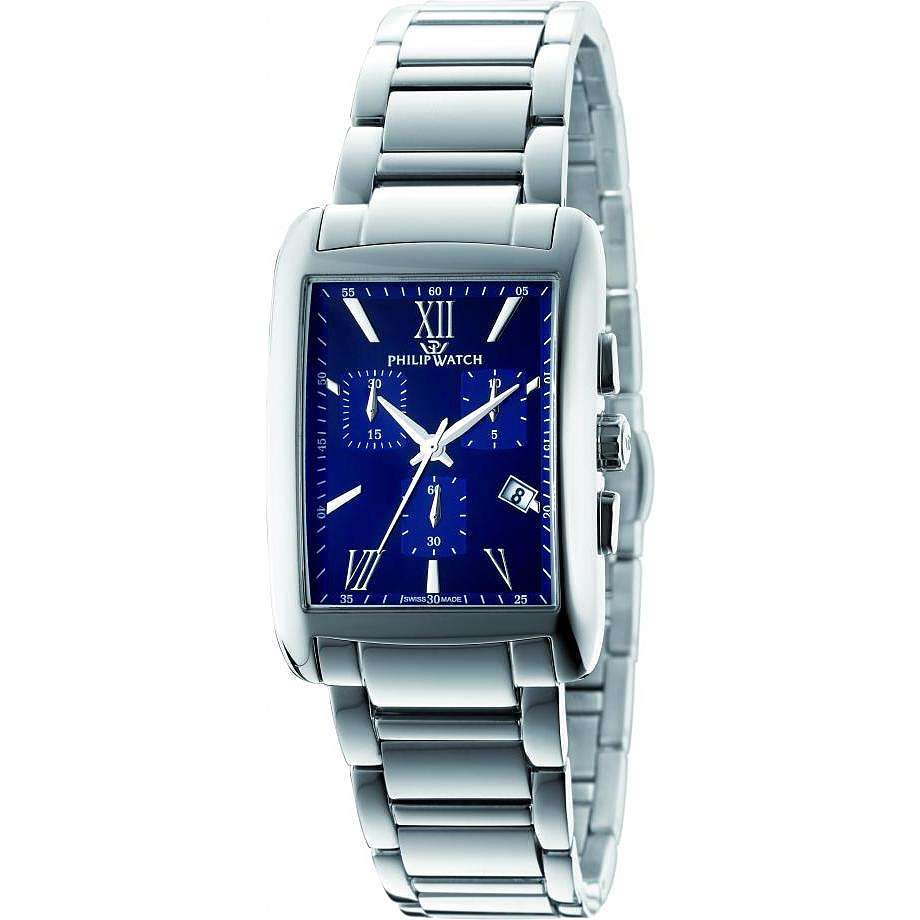 montre chronographe homme Philip Watch Trafalgar R8273674001