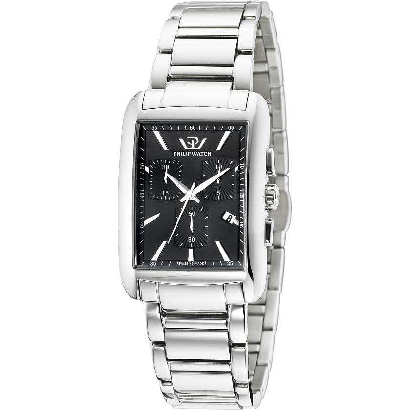 montre chronographe homme Philip Watch Trafalgar R8273674002