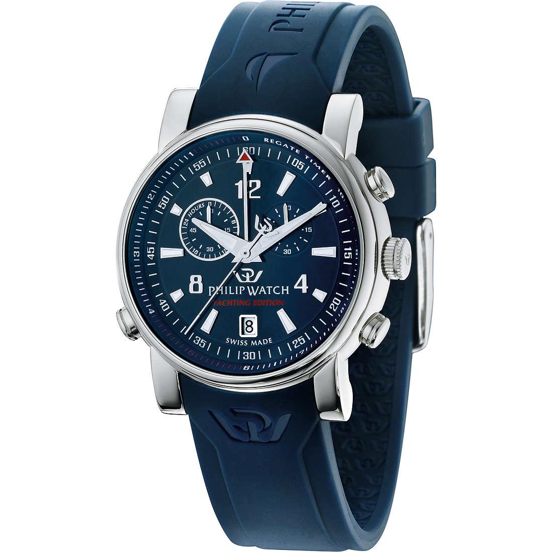 montre chronographe homme Philip Watch Wales R8271693001