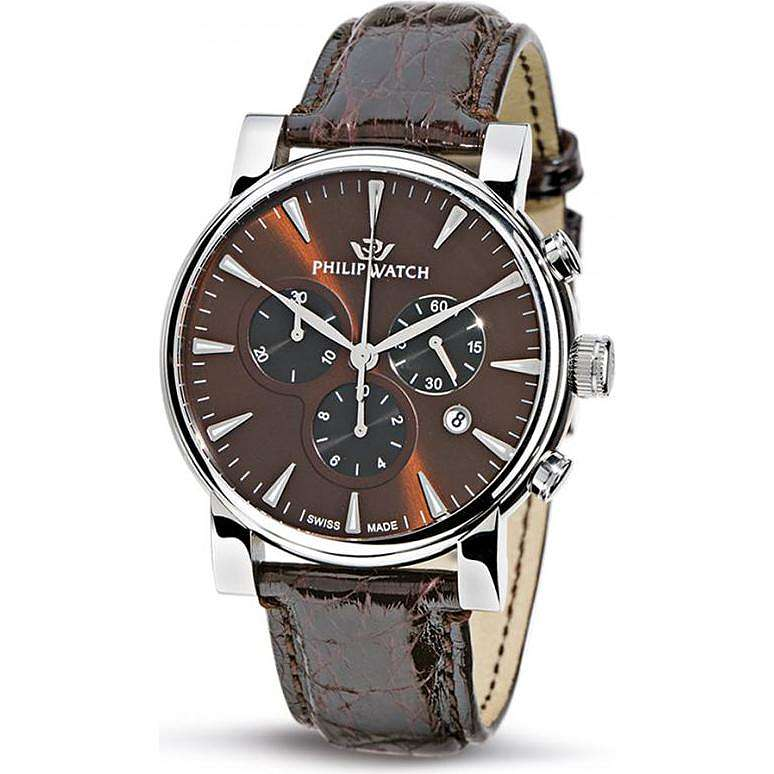montre chronographe homme Philip Watch Wales R8271693055