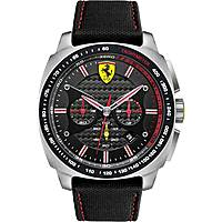 montre chronographe homme Scuderia Ferrari Aero FER0830166