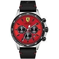 montre chronographe homme Scuderia Ferrari Piloa FER0830387