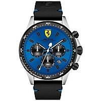 montre chronographe homme Scuderia Ferrari Piloa FER0830388