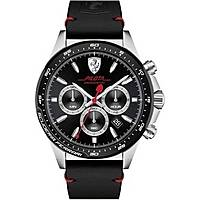 montre chronographe homme Scuderia Ferrari Piloa FER0830389