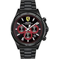 montre chronographe homme Scuderia Ferrari Piloa FER0830390