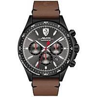 montre chronographe homme Scuderia Ferrari Piloa FER0830392
