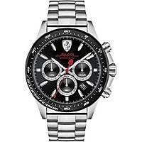 montre chronographe homme Scuderia Ferrari Piloa FER0830393