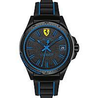 montre chronographe homme Scuderia Ferrari Pilota FER0830423