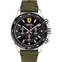 montre chronographe homme Scuderia Ferrari Pilota FER0830433