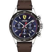 montre chronographe homme Scuderia Ferrari Pilota FER0830435