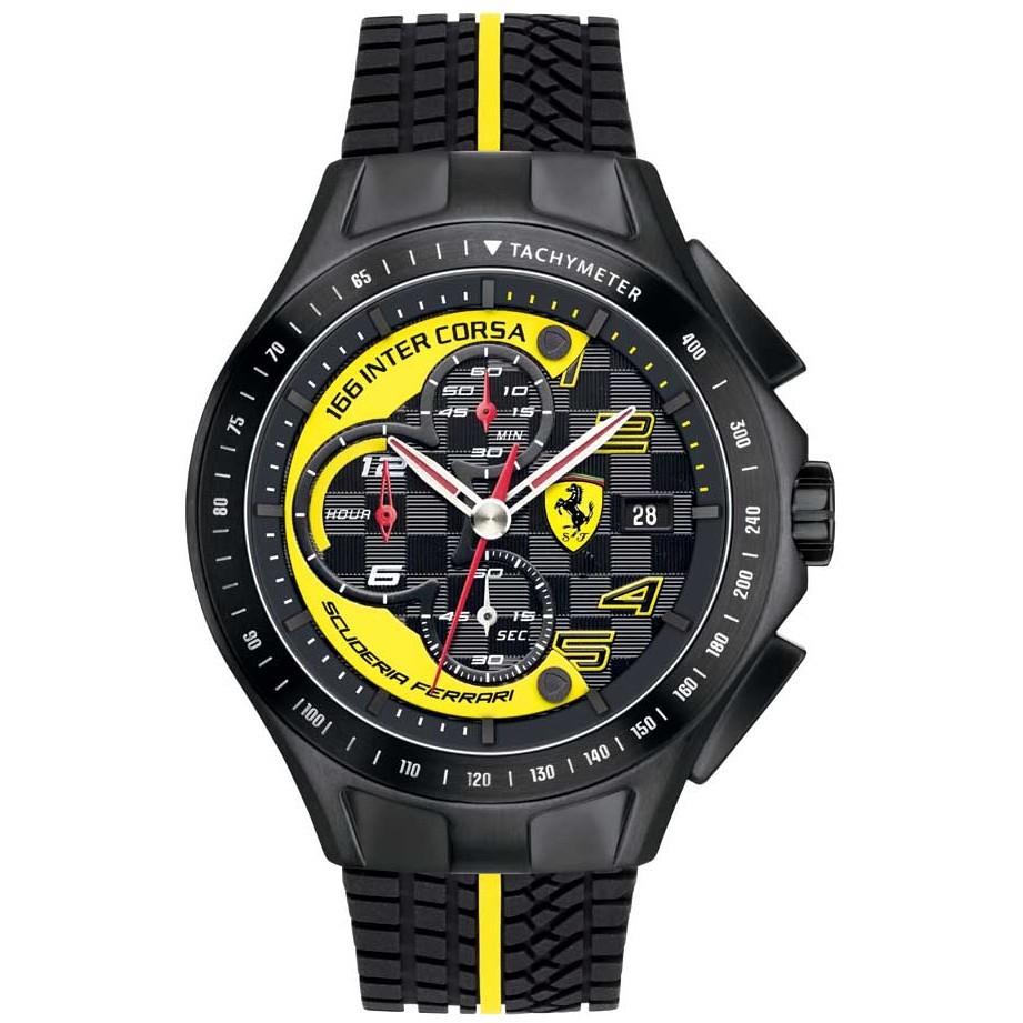 montre chronographe homme Scuderia Ferrari Race FER0830078