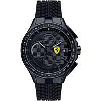 montre chronographe homme Scuderia Ferrari Race FER0830105